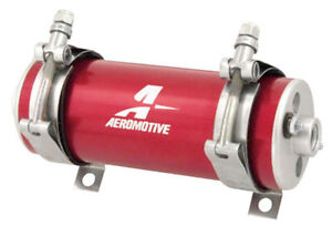 Aeromotive 11106 Electric Fuel Pump A750 For Gas e85 diesel In Red 92 Gph