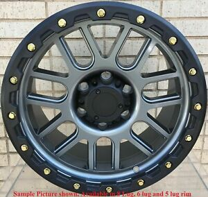4 New 18 Wheels Rims For Dodge Ram 2500 2005 2006 2007 2008 2009 2010 Rim 118