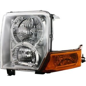 Left Headlamp For 2006 2010 Jeep Commander