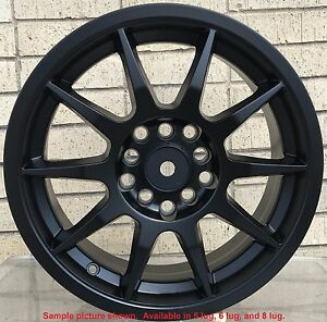 4 New 17 Wheels Rims For Chevy Beretta Cavalier Saab 9 2x Scion Fr s Tc Xd 4909