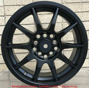 4 New 17 Wheels Rims For Honda Pilot Ridgeline Odyssey Pontiac G8 Base Gto 5607