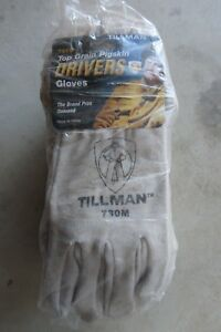 12 New Pairs Tillman 730m Top Grain Pigskin Drivers Welding Gloves Medium