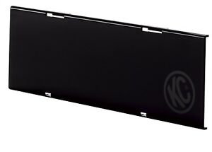 Kc Hilites 72011 C Series Led Cover In Black Acrylic Light Shield 10