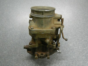 Ford Holley 94 Carburetor Model No 2100 Flat Head Hot Rod Rat Rod Carb Truck