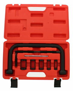 Abn Valve Spring Compressor C Clamp Tool Set Motorcycle Atv Car Service Kit