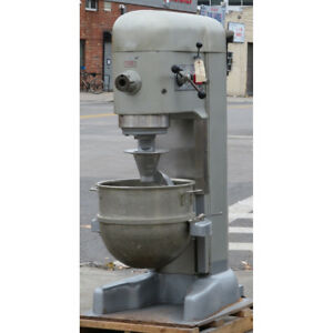 Hobart 80 Quart M802 Mixer With Attachment Hub Used Good Condition