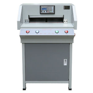19 3 Programmable Automatic Electric Paper Cutter Cutting Machine Trimmer 4908t