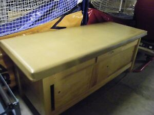 Bailey Medical Table 30 X 30 X 77 With Storage Below