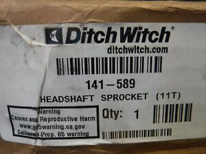 Genuine Ditch Witch Headshaft Sproc Pn 141 589 brand New free Shipping