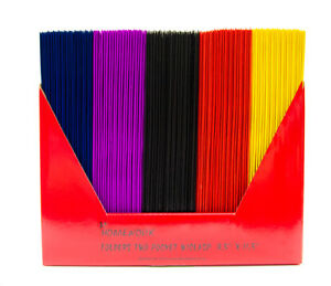 100 Laminated Two Pocket Folders With Clasps 9 3 X 11 5