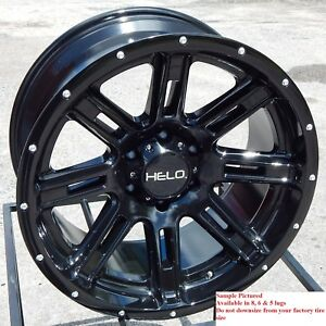 4 New 20 Wheels Rims For Ford F 250 2015 2016 2017 2018 Super Duty 1187