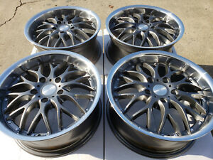 17 Wheels Bmw 318 320 323 325 328 340 Acura Mdx Rlx Tl Regal Gun Metal Rims