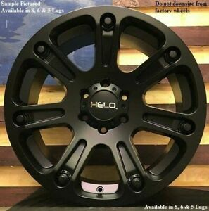 4 New 18 Wheels Rims For Ford F 250 2005 2006 2007 2008 2009 Super Duty 1192
