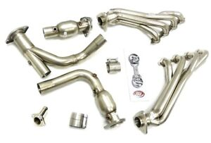 Maximizer Long Tube Header For 2009 13 Chevy Gmc Suv Truck 4 8 5 3 6 0l 2wd 4wd