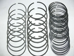 Ford 289 302 Buick 322 Chevy 327 Cu In 040 Oversize Piston Rings