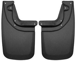 Husky Mud Flaps Rear For 05 14 Toyota Tacoma With Fender Flares Only 57931