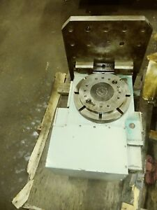 Tsudakoma 4th Axis Rotary Table Rnck 301 See Pictures