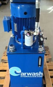 Hydraulic Power Unit 7 5 H p Electric 10 Gpm Pump Three Phase Or