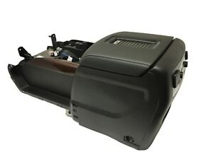Gm Full Floor Center Console Assembly W Electric Cooler Wireless Phone Charge