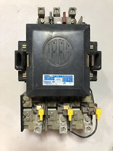 3 A203e Ite Gould Size 3 Contactor 3 Phase 120vac Coil 100 Amp 600v Starter