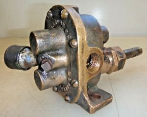 Oberdorfer Brass Gear Water Pump For Car Truck Boat Or Hit Miss Engine 1 2 Pipe