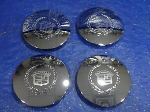96 06 Cadillac Eldorado Deville Dts Seville Chrome Wheel Hub Center Cap Set