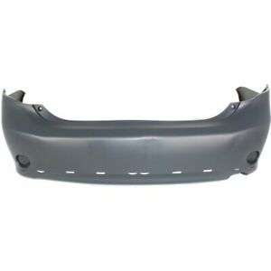 Bumper Cover For 2009 2010 Toyota Corolla S Xrs Models Rear Paint To Match