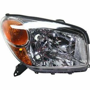 Headlight For 2004 2005 Toyota Rav4 Right 4 Door Sport Utility Halogen