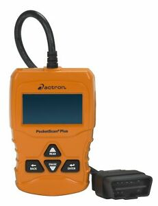 Actron Cp9660 Pocketscan Plus Abs obd Ii can Scan Tool