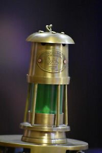 Antique Brass Minor Oil Lamp Nautical Maritime Ship Lantern Boat Light Lamp