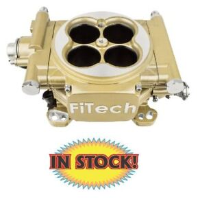 Fitech 30005 Easy Street 600hp Classic Gold Efi