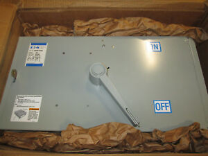 Eaton Fdpw365r Fusible Panel Board Switch 400 Amp 600 Volt
