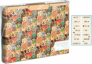 Molly And Rex Paws Squad File Folders Set Of 10