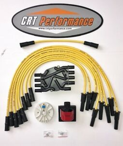 96 00 Chevy 7 4l 454 Vortec 45k Ignition Tune Up Kit Yellow Hp