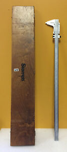 Starrett 123 24 0 To 24 0 001 Graduation Master Vernier Caliper Wooden Case