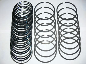 1962 To 1966 Pontiac 421 Cu In Engine Standard To 009 Piston Rings