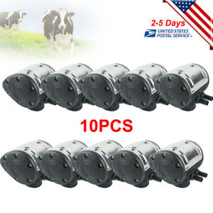 10pcsx Milking Machine L80 Pneumatic Pulsator For Cow Milking Farm Use Usa Stock