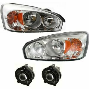 Auto Light Kit New Right And Left For Chevy Lh Rh Chevrolet Malibu 2006 2008