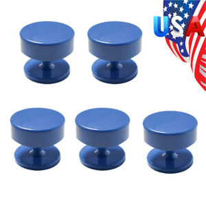 5x Us Ship Magnetic Blue Dental Lab Bur Burs Block Holder Station F Burs Drills