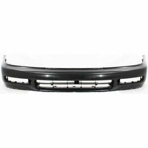 Front Bumper Cover For 1996 1997 Honda Accord 4cyl Eng Primed Plastic