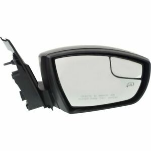 Mirror For 2013 2016 Ford Escape Right Side Manual Fold Heated With Memory