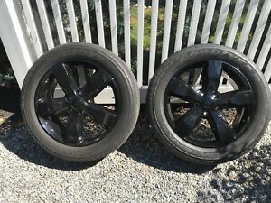 20 In Inch Jeep Grand Cherokee Altitude Wheels Rims Tires Oem Goodyear Fortera