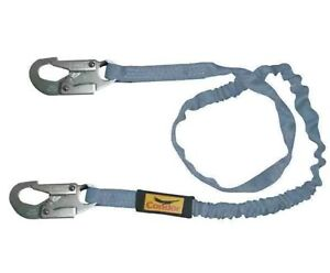 New Condor Shock absorbing Lanyard 6 Ft 19f382 Blue 100 Tie Off