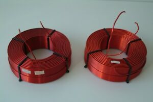 Solen Air Core Inductors 10mh 12awg pair