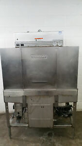 Hobart C44a Commercial Dishwasher Right To Left 208 Volt Tested