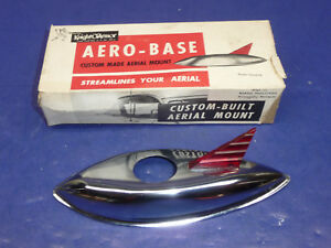 Nos 1953 54 Chevy Accessory Aero Base Custom Aerial Antenna Mount Ct28