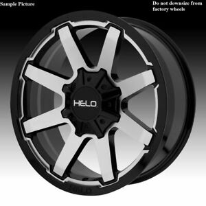 4 New 18 Wheels Rims For Ford F 350 2005 2006 2007 2008 2009 Super Duty 1200