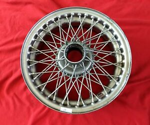 Dunlop 60 Spoke Painted Wire Wheel Xd452m Pre owned Jaguar Mg 3a