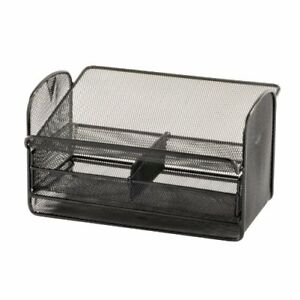Safco Onyx Mesh Telephone Stand With Drawer 7 Height X 11 8 Width X 2160bl