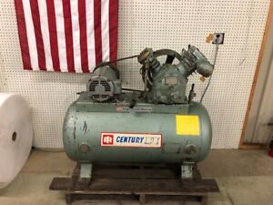 Ingersoll Rand Air Compressor Type 30 Model 242 5c3 5hp Motor Ser 30t 405084